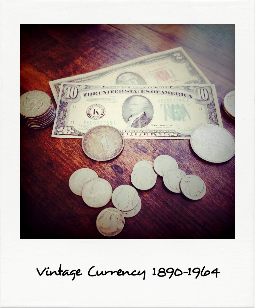 Vintage Currency 1890-1964